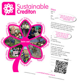 Sustainable Crediton Flyer